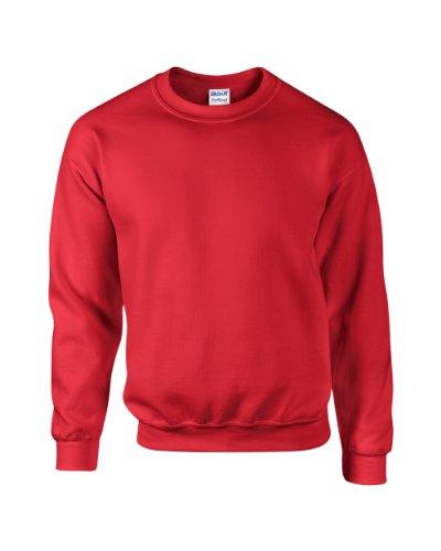Gildan Dry misto® Adulto Felpa girocollo Red