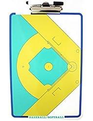 Softee 0004673 - Carpeta táctica, color azul, talla S