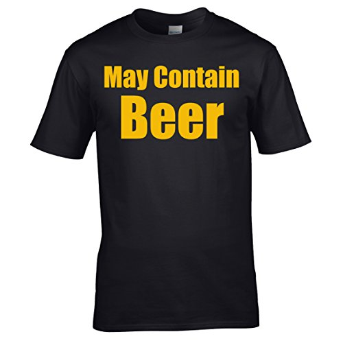 May-Contain-Beer-Adults-T-Shirt