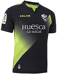 KELME SD Huesca Tercera Equipación 2018-2019, Camiseta, Negro, Talla XL