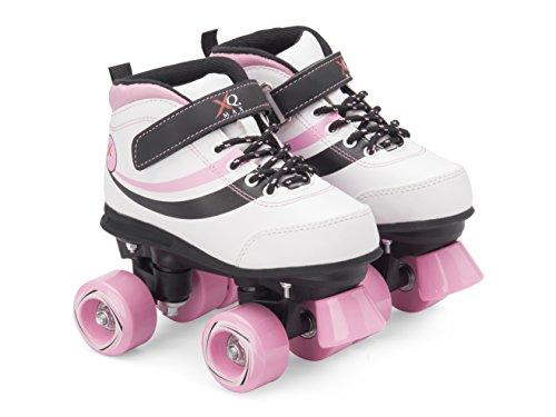 junior-disco-traditionnel-patins-a-retro-avec-pour-chaussures-de-sport-bottes-multicolore-blanc-rose
