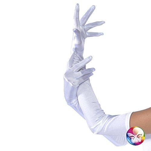 842/schwarz Mesh résille- kurz fingerlose Handschuhe–Eine Größe (Schwarz Mesh Fingerlose Handschuhe)