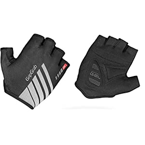 GripGrab Roadster Short Cycling Gloves Black 2018 Fahrradhandschuhe