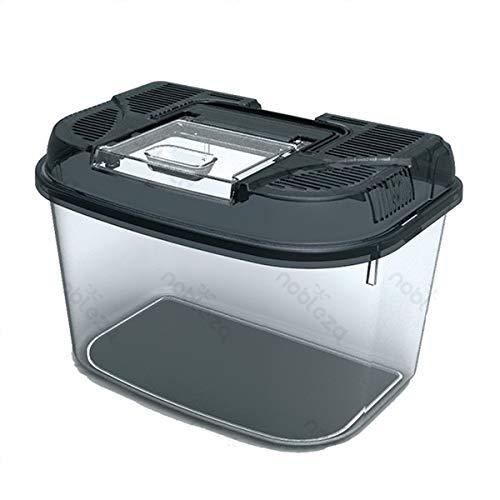Nobleza trasportino in plastica XL per rettili, anfibi, pesci e piccoli animali 34,8x22,1x21,6 CM