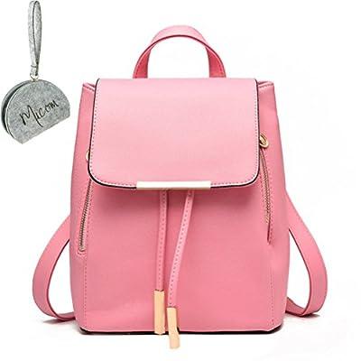 Micom - Bolso mochila  para mujer rosa rosa M