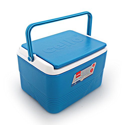Cello Plastic Chiller Ice Packs, 3 litres, Blue