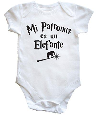 HippoWarehouse Mi Patronus es un Elefante body bodys pijama niños niñas unisex