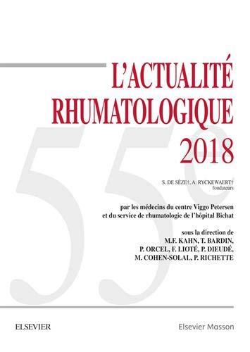 L'actualité rhumatologique 2018 por Marcel-Francis Kahn