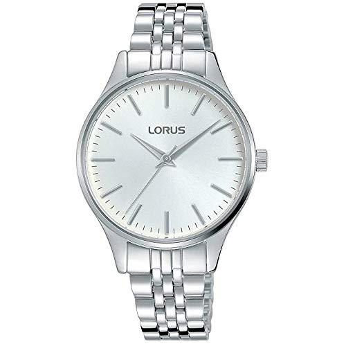 Reloj Lorus de Acero para Mujer, Color Plateado