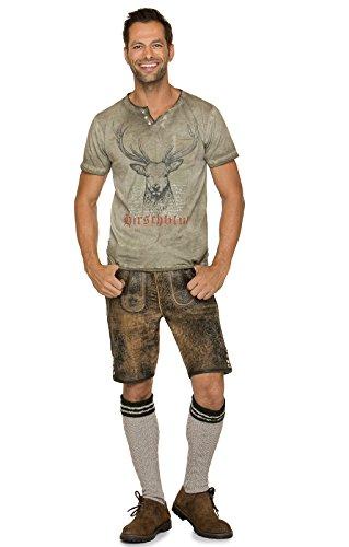 Stockerpoint Trachten T-Shirt Pascal Sand, L - 5