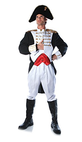Napoleon Bonaparte French Military Costume Adult Standard (Napoleon Bonaparte Kostüm)