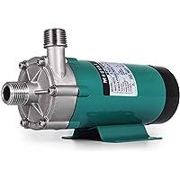 Moracle Bomba de Cerveza de Acero Inoxidable MP-15RP Bomba de Transferencia Eléctrica Bidireccional 220V