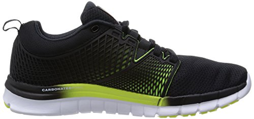 Reebok Zquick Dash, Chaussures de Running femme Schwarz (Black/Solar Yellow/White-Gp)
