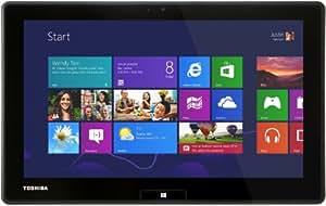 """Toshiba 10Z Tablette Tactile 11.6 """" Intel Windows 8 Noir, Argent, Argent"""