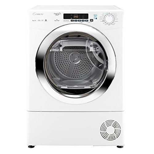 Candy GVSH9A2DCE 9kg 2 Temps Heat Pump Condenser Tumble Dryer with Timer White