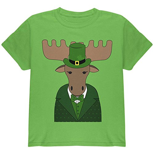 Old Glory St. Patrick ES Day Irish Kobold Moose Youth T-Shirt Kiwi YMD (Youth Day T-shirt Patricks)