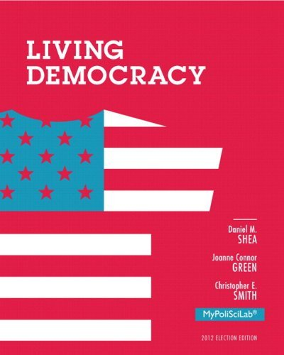 NEW MyPoliSciLab without Pearson eText -- Standalone Access Card -- for Living Democracy, 2012 Election Edition (4th Edition) by Daniel M. Shea (2012-12-15)