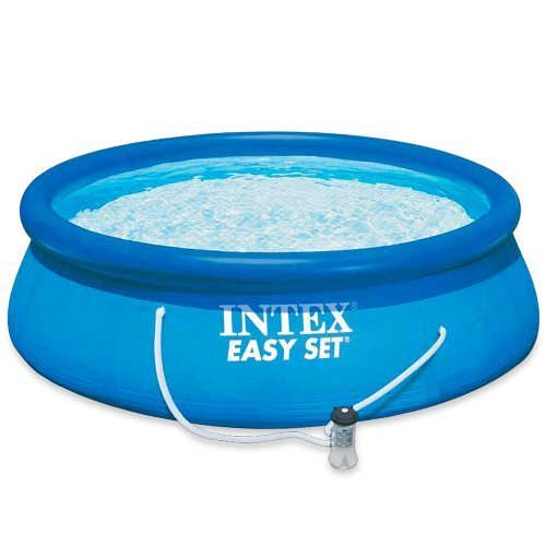 Intex 28122NP Easy Set - Piscina hinchable, 3.853 litros, 305 x 76 cm