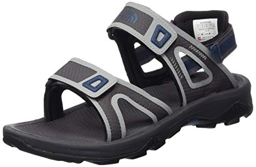 THE NORTH FACE Herren M Hedgehog Sandal II Trekking-& Wandersandalen, Multicolor (Blackend Pearl/Shady Blue C1z), 44.5 EU Shady Ltd