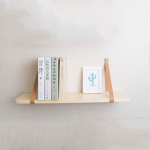 ZRZJBX Deko Regal HäNgeregal ,Regal Wand IKEA,Weiß U-Form Wandboard,HäNgeregal KüChenregal,Wood-M