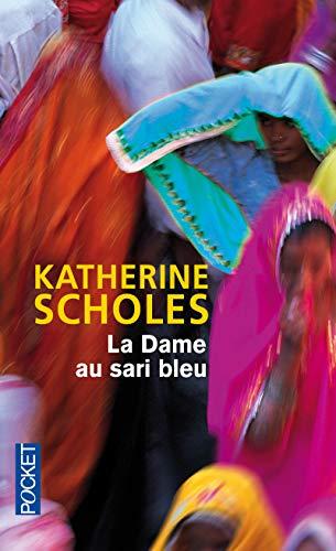 La dame au sari bleu par Katherine SCHOLES