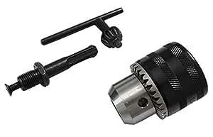 AERZETIX - Mandrin 13mm adaptateur SDS+ pour forets 1.5-13mm - à clé