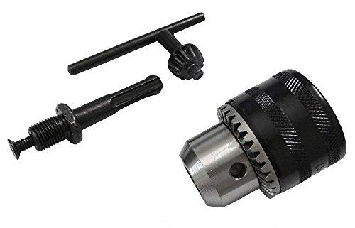 Preisvergleich Produktbild Aerzetix: Bohrfutter Bohrer Spannfutter 13mm Futteradapter SDS + Bohrer für 1.5-13mm - Schraubenschlüssel