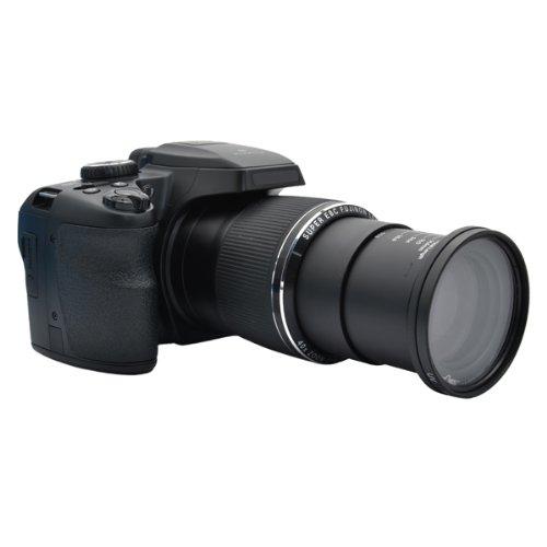 Filteradapter 58 mm für Fuji FinePix SL1000 und S8200