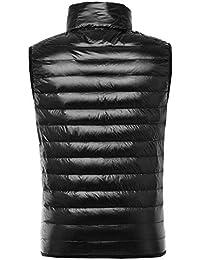 Amazon.it  Piumini Senza Maniche - Giacche   Giacche e cappotti   Abbigliamento 041f8ff26b4
