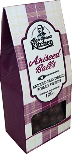 Maw Broon's Kitchen Aniseed Balls Gift Bag 125 g (Pack of 12)