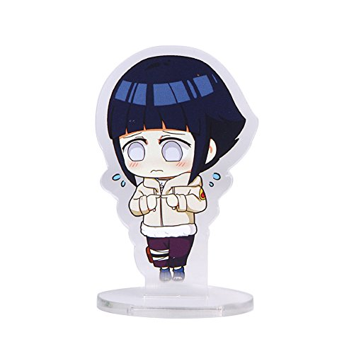 Shippuden Cosplay Hinata Hyuga Kostüm - Coaste Antilane Naruto Shippuuden Standing Figur Actionfigur Desk Stand Miniature (Hyūga Hinata)