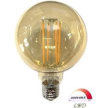 ALLUXE Completamente regolabile LED lungo monofilamento Ambra