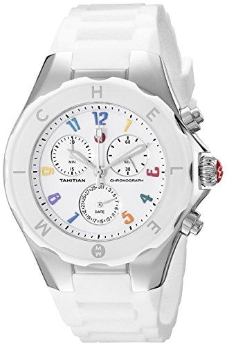 Michele MWW12F000013 - Reloj de mujer con correa de acero)