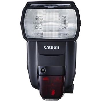 Canon Speedlite 600EX II-RT Blitzgerät (EOS Blitzgerät mit integriertem Funk-Auslöser, Leitzahl 60, Geeignet für entfesseltes Blitzen)
