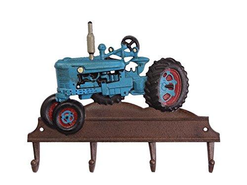 Kleiderhaken Hakenleiste Wandhaken Haken Trecker Traktor Gusseisen Landhausstil