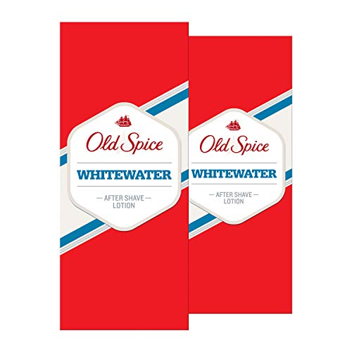 Old Spice Whitewater After Shave Lotion, 2er Pack(2 x 100 ml)