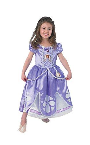 Rubie's Edles Disney Sofia die Erste™-Kostüm für Mädchen - 5-6 Jahre (Sofia Die Erste Kostüm)