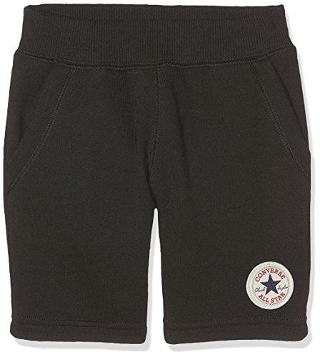 Converse Jungen Shorts Core French Terry Schwarz (Black 023) 9-10 Jahre