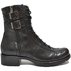 Nero Giardini Anfibi tronchetti nero 9860 scarpe donna A719860D