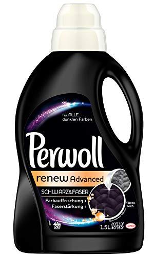 Perwoll Schwarz und Faser renew Advanced, 1500 ml
