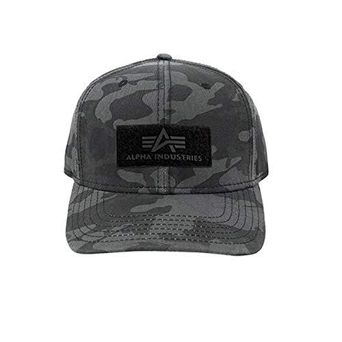 Alpha Industries VLC Cap, Black Camo, Einheitsgröße