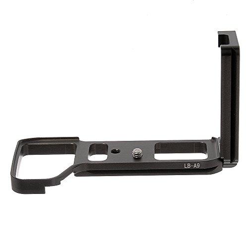 Quick Release vertival L Bracket Platte Grip Halter mit 1/4'' Schraube für Sony Alpha A9 A7RIII A7III Arca-Swiss ilce-9 -