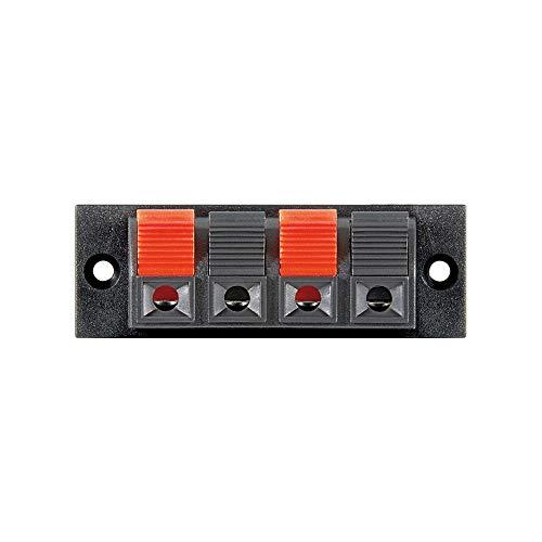 Wentronic LK 04schwarz, rot Aderverbinder-Verbinder Fäden (schwarz, rot)