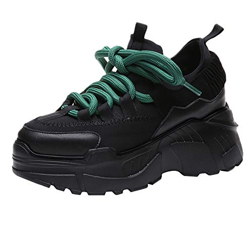 Chaussures Femme Hiver Boots,GongzhuMM Baskets Chaussures de Sport Respirantes Chaussures de Sport tissées Volantes Chaussures de Sport