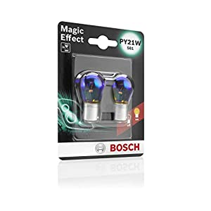 Bosch Autolampe PY21W Magic Effekt 12V/21W Doppelpack