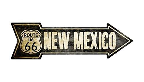 Mexico Street Sign (Smart Blonde Outdoor Decor Vintage Route 66New Mexico) Neuheit Metall Pfeil Schild a-128)