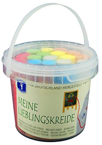 Feuchtmann Spielwaren 657.5001 - Meine Lieblingskreide, Small Bucket, 20 Stangen im Spieleimer