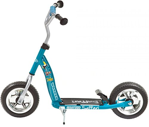 Scooter Saffari 100 blau Kinderroller Rücktrittbremse