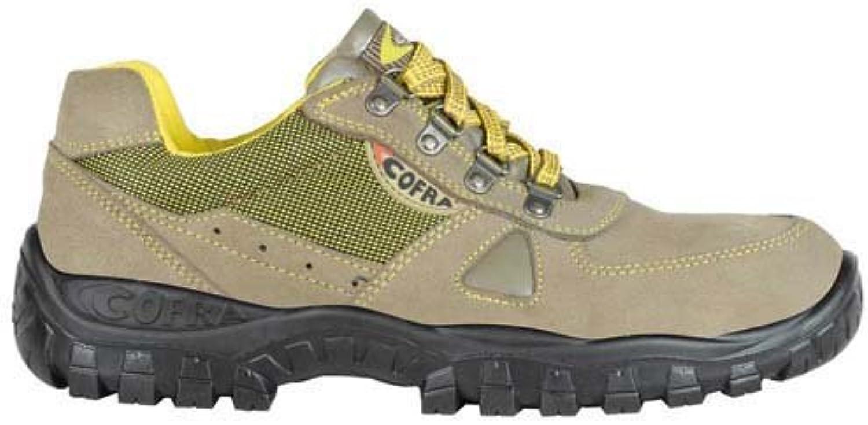 Cofra TA120 – 000.w41 calzado de trabajo,Zenith, tamaño 7,5, marrón