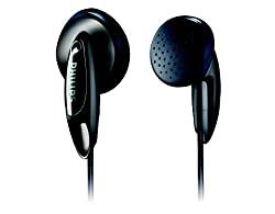 Philips SHE1360/97 In-Ear Headphone (Black)
